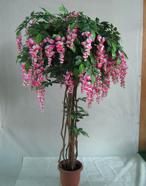 artificial trees with flowers | migrant resource network