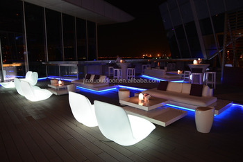 Luxury Color Change LED Outdoor Garden Furniture JX 163S