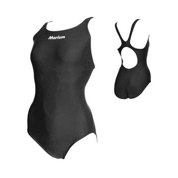 344bb24163 OEM Racing Swimwear Women Plain Training Swimsuit One Piece Swimsuits