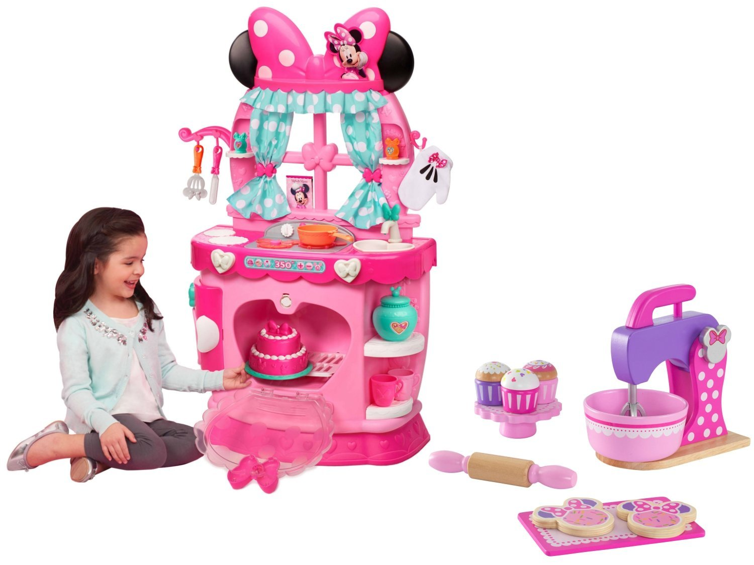 Buy New Disney Minnie Mouse Bowtique Sweet Surprises Kitchen And Kidkraft Deluxe Minnie Mouse Baking Set In Cheap Price On Alibaba Com