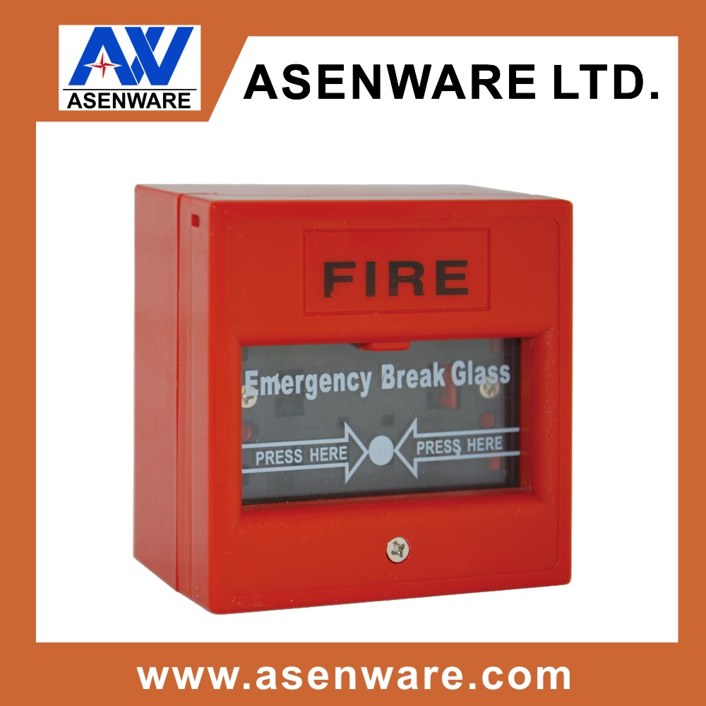 220V Break Glass Unit Manual Fire Alarm Call Point