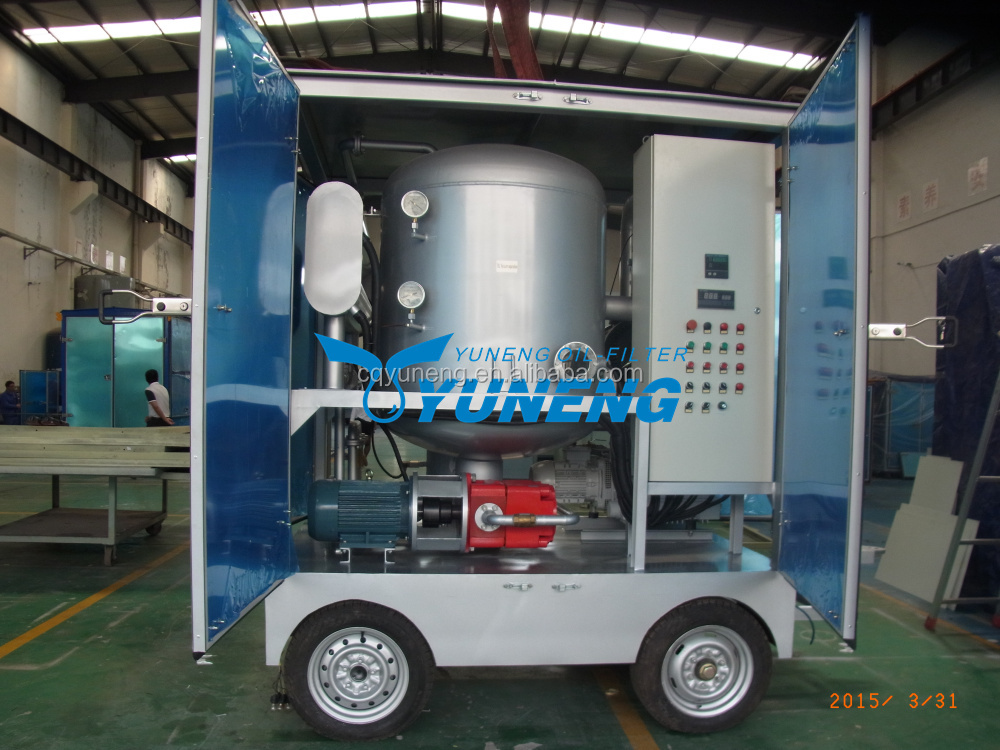 Portable Transformer Oil Dehydration Plant for Power Substation