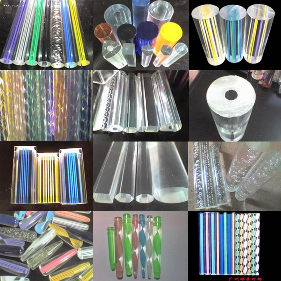 Hot Sale Clear Acrylic Round Rods Clear Acrylic Plastic