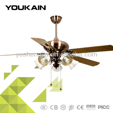 60 inch 3 speed air light ceiling 240v ac cooling fan