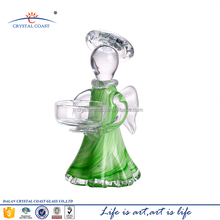 6.3''H decorative small crystal angel figurines