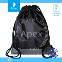 Drawstring foldable golf shoe bag