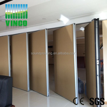 Sliding Doors Movable Wall Partition Type Sound Proof Glass Office Door