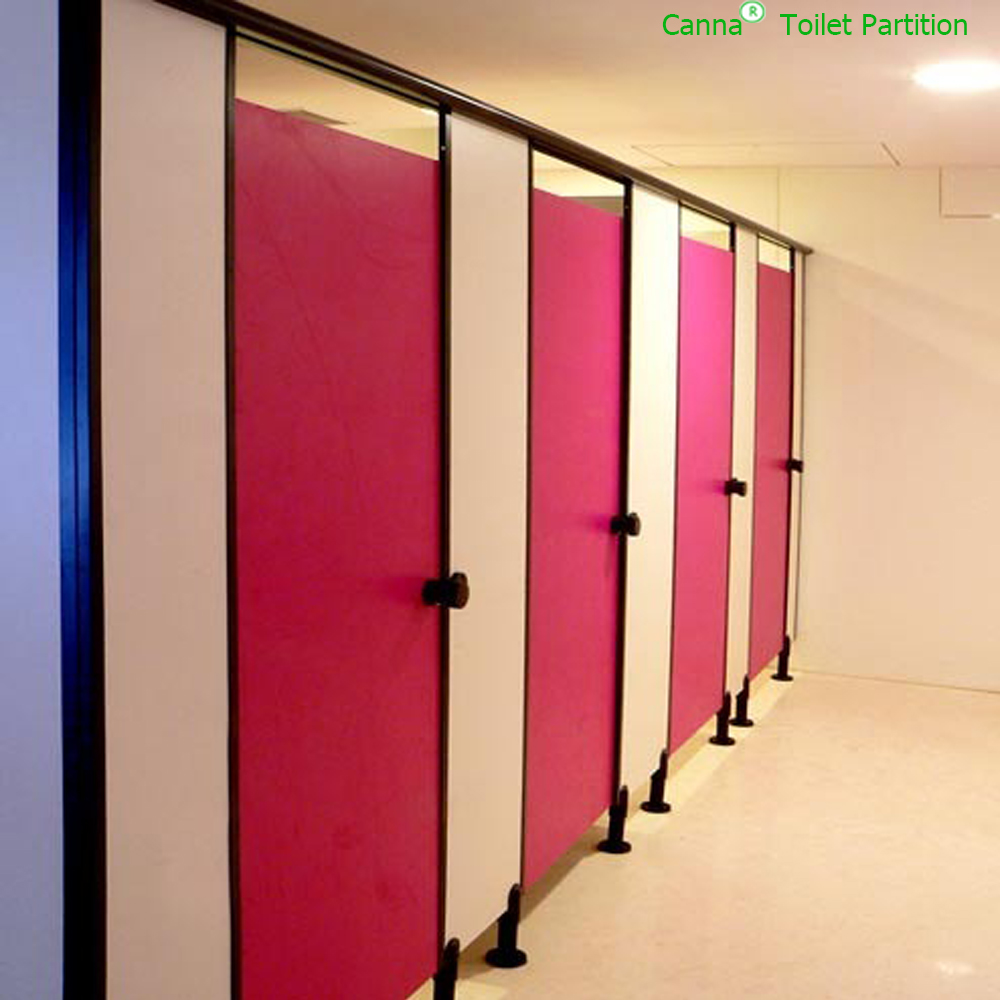 Canna customized unique phenolic compact HPL toilet cubicle