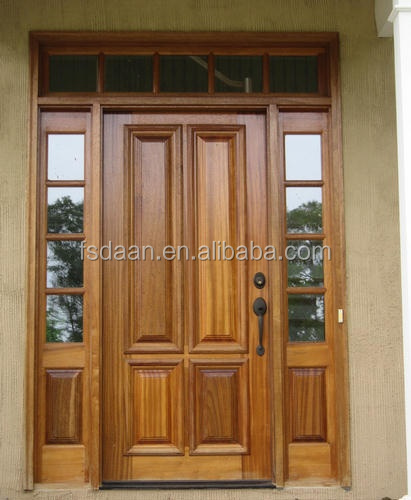 2014 hotel engineering teak wood front door design buy for Main door designs 2014