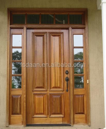 2014 hotel engineering teak wood front door design buy for Take wood door designs