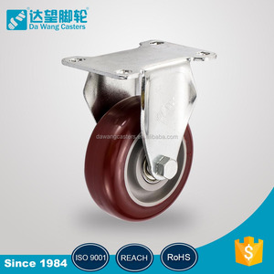 Industrial construction pu caster scaffold caster