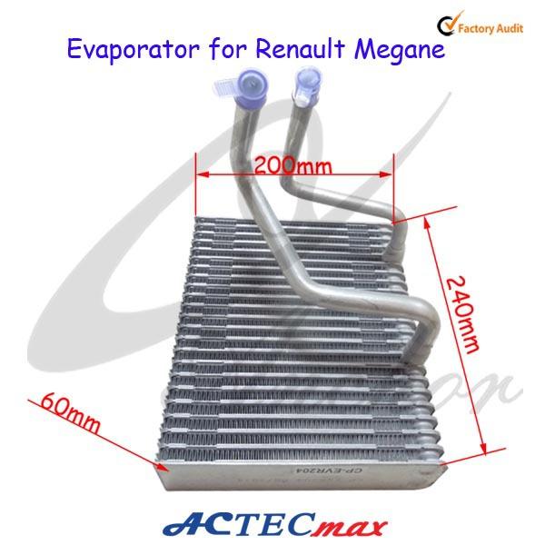 Car Air Conditioning Evaporator Coil For Renault Megane
