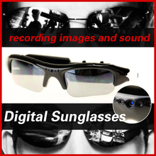New HD Cam Eyewear Digital camera Video Recorder Glasses Mini Camcorder DV DVR Camera Video Sunglasses hidden cam