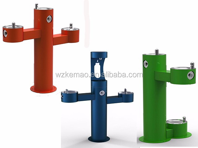 stainless steel drinking water fountain for outdoor