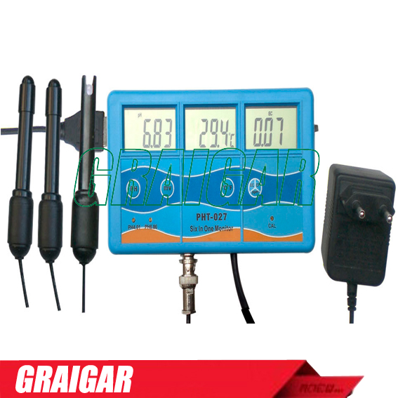 High accuracy Multifunction Multi-parameter Meter Water Quality PH Tester TDS/PH/EC/CF Tester Meter