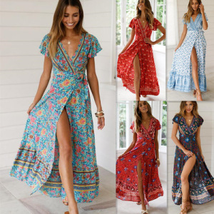 768f0e6c07 China Boho Beach Dress
