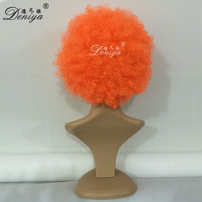 Football Fans World Cup Crazy Afro Synthetic Party Wigs