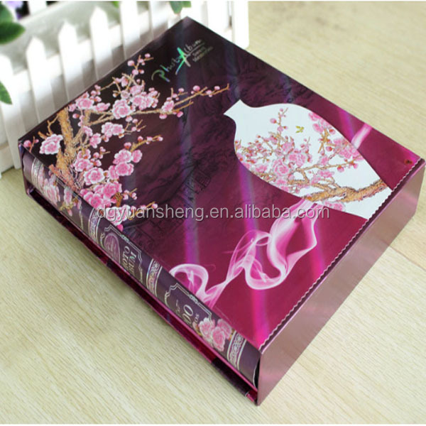manufacturer custom high quality photo book album materials