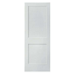 Melamine paper faced 3mm white primed mdf door skin from factory