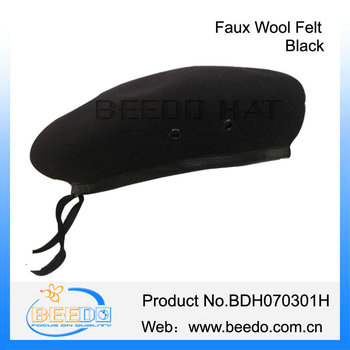 84e0281c New Faux Wool Felt Men British Military Berets Manufacturers - Buy ...