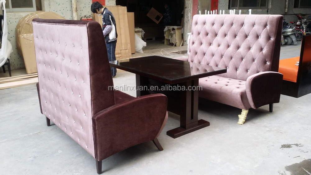 good sale l shape leather restaurant booth seating xyn54 - L Shape Restaurant 2015