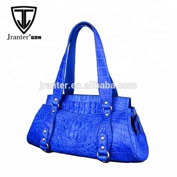 hot selling genuine crocodile leather fashion designer bags woman, leather bags women