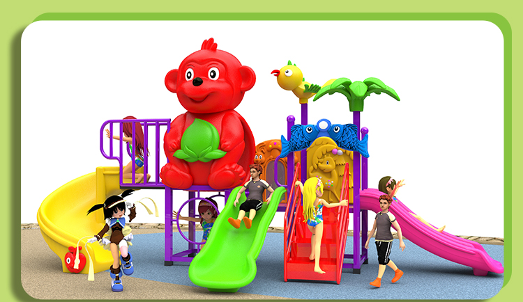 Commercial multifunction children sports outdoor playground equipment for sale
