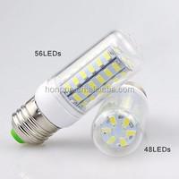 LED bulb E27 5730SMD LED 220V/110V White/Warm White 5730 LED lamp led Corn light
