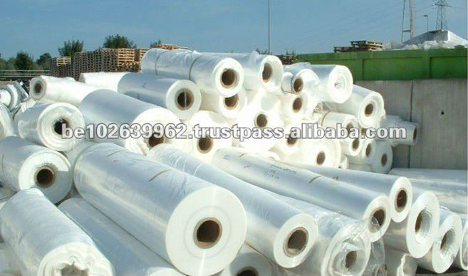 Natural Recycled Waste Plastic PP and PE Rolls