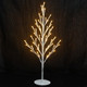 51L warm white LED tree shape table lamp wire christmas light covers