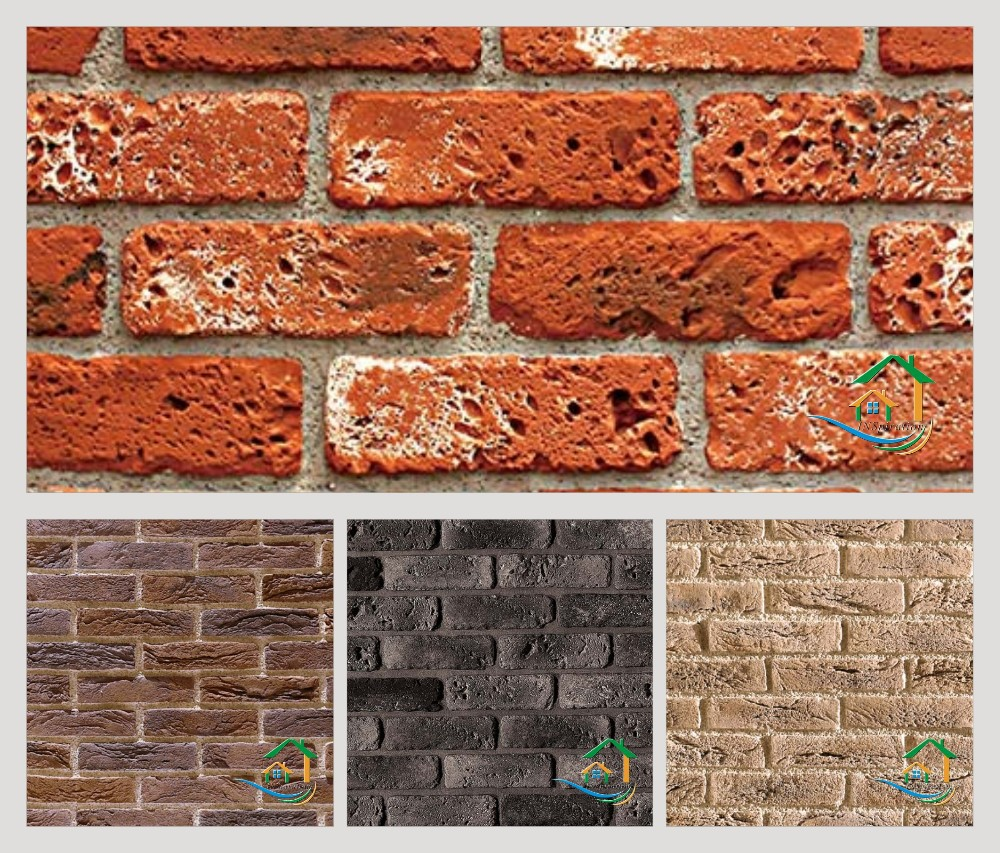 Kunstmatige steen laminaat bakstenen muur kunstmatige steen ...