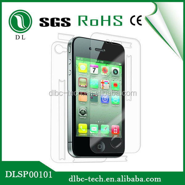 Protective film anti radiation nano liquid screen protector for iphone 4/4s