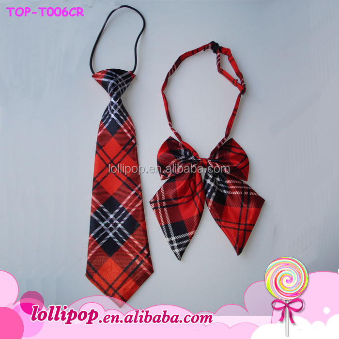 2017 classic handsome elastic fashion neck tie for kids boutuque gifts