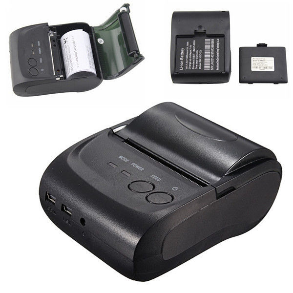 Poche Taille 58mm 2 Pouces Mini Manufacture Haute qualité 58mm mini portable thermique imprimante de reçu d'atmosphère