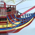 1pcs Gifts Decor 42 San Felipe sailing boat Detailed Wooden Model Nautical Decor via EMS shipping