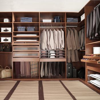 Bedroom Wardrobe/ Walk In Closet / Cabinet / Closet Modern Bedroom Wardrobe  Without Doors High