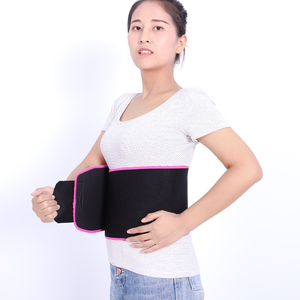 Workout Exercise Adjustable Sweat-absorbent waist trimmer belt