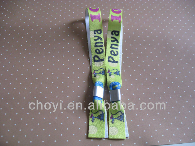 Cheap Heat Transfer Print Sublimation Fabric Wristband