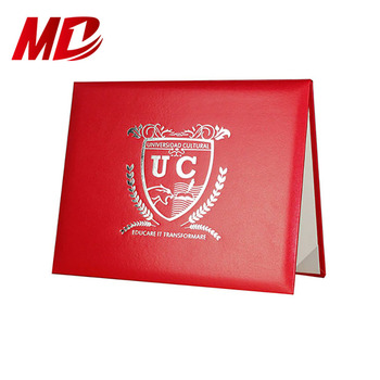 Hard Paper Diploma Cover High quality certificate cover/ holder