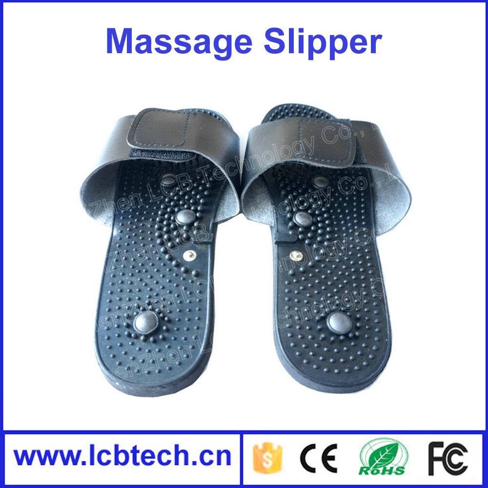 Vibrating Massager Slipper Tens Machine Foot Massaging Slippers ...