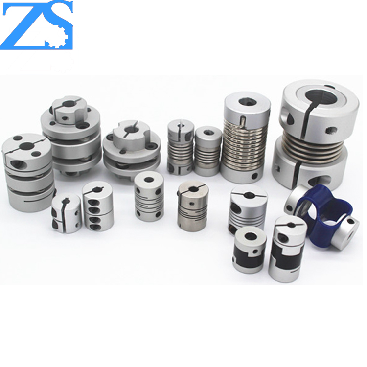 tapered spline electric hex motor shaft coupling for servo system