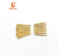 electrical 1mm banana plug terminal pin connector male and female Brass pin plated gold connector