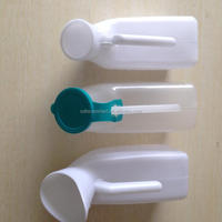 disposable hospital female or male urine container,1000cc urinal