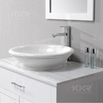 Surface Wash Tub Sink For Bathroom - Buy Solid Surface Wash Tub Sink ...