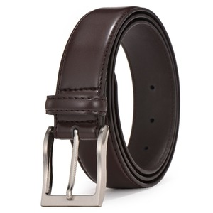 simple fashion cowhide leather Belt for male
