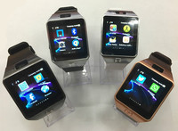 touch screen watch cell for kids bluetooth 3g wifi dz09 sim card smart watch phone