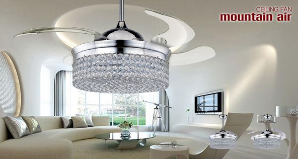 Fancy high quaility crystal luxury ceiling fan with hidden blade fancy high quaility crystal luxury ceiling fan with hidden blade aloadofball Choice Image