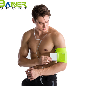 Universal exercise armband for all phone sizes sports mobile phone bag case arm holder for running