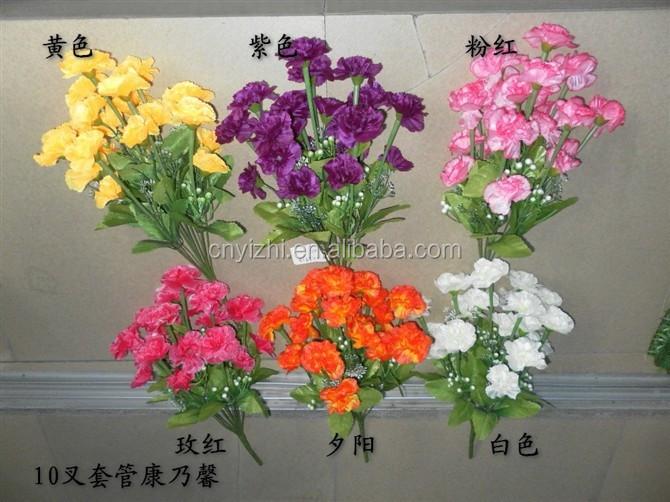 Mini Artificial Flower Carnation Bouquet Cheap Price Carnation ...