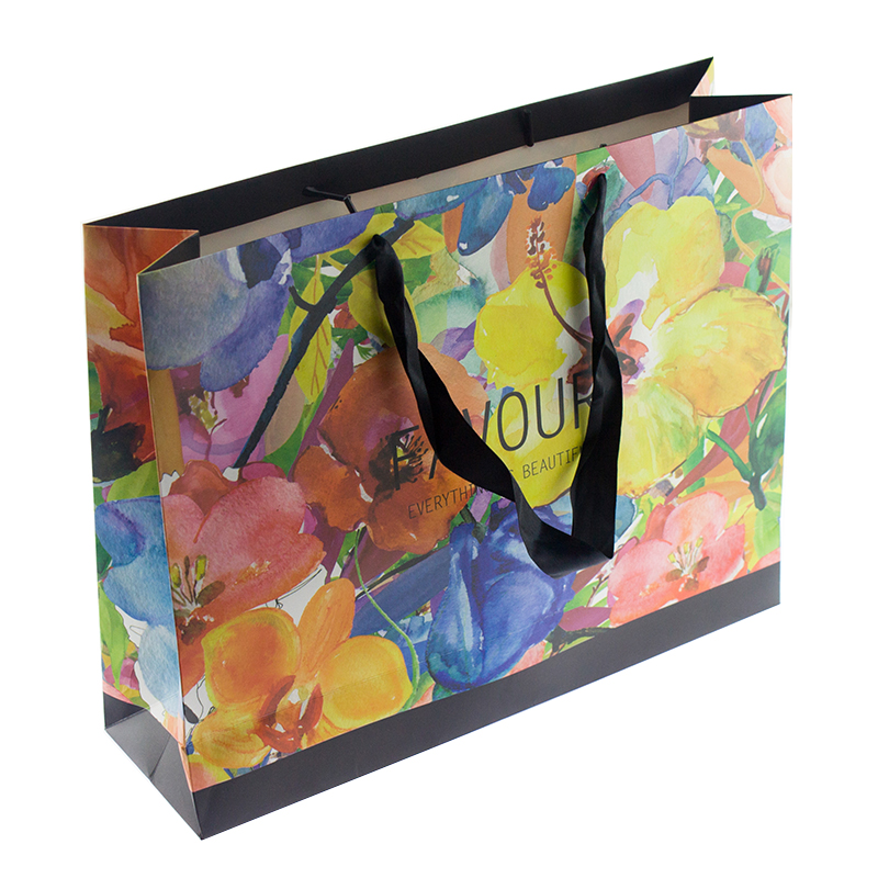Wholesale Customized Best Seller Design Craft Paper Bag for Shopping